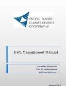 PICCC Data Management Manual