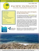 Pacific Pandanus Newsletter May 2016
