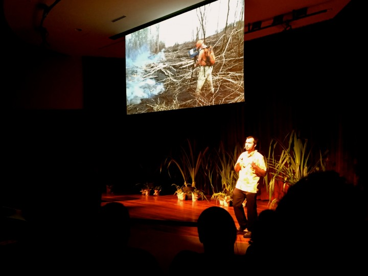 Nicolas Turner of Hawaii  discusses 'Going with the Flow'