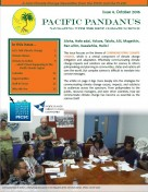 Pacific Pandanus Newsletter October 2016